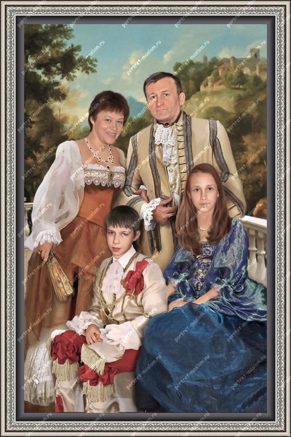 Фотоколлажи портреты в москве