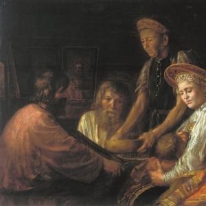 Крестьянский обед. 1774