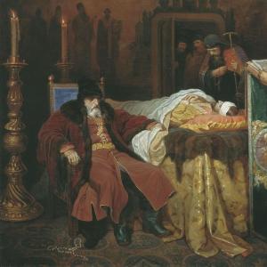 Иван Грозный и тело убитого сына