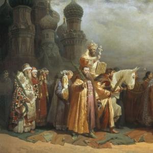 Вербное Воскресение в Москве при Царе Алексее Михайловиче