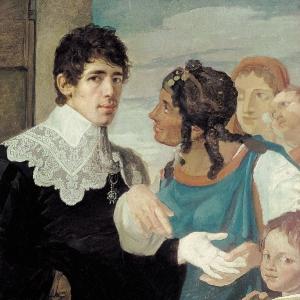 Гадание. Автопортрет. 1805
