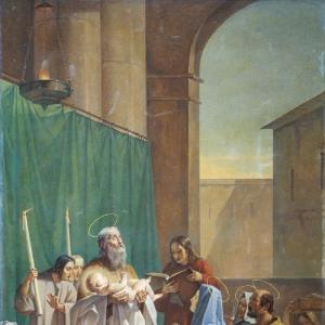Симеон Богоприимец. 1847