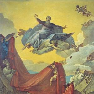Видение пророка Иезекииля. 1836