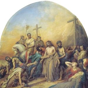 На Голгофе. 1841