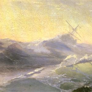 Бодрящая волна.1890