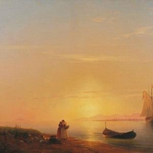 Берега Далмации. 1848