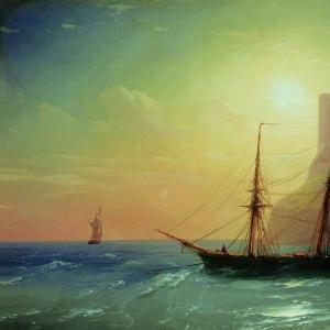 Берег моря. 1861