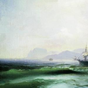 Беспокойное море. 1877