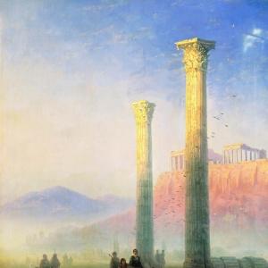 Афинский Акрополь. 1883
