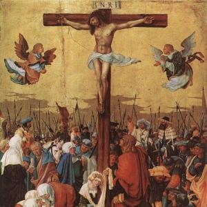 Альтдорфер Альбрехт - Христос на кресте 1520