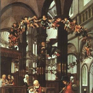 Альтдорфер Альбрехт - Рождение Девы Марии