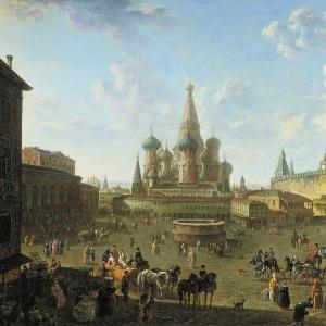 Красная площадь в Москве. 1801