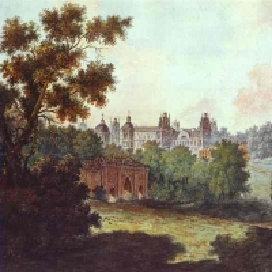 Дворец Царицыно около Москвы