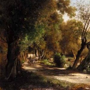 Прогулка по озерной дороге