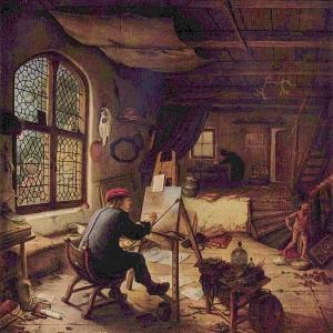 Адриан ван Остаде - Живописец