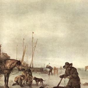 Адриан ван Остаде - Зима