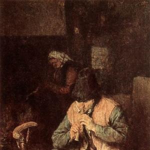Адриан ван Остаде - Флейтист