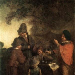 Адриан ван Остаде - Владелец конюшни