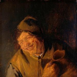 Адриан ван Остаде - Веселый крестьянин