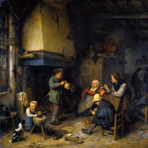 Адриан ван Остаде - Компания крестьян
