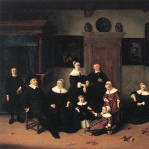 Адриан ван Остаде - Портрет семейства