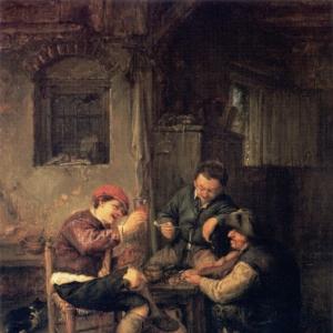 Адриан ван Остаде - Постоялый двор