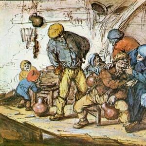 Адриан ван Остаде - Сцена в таверне