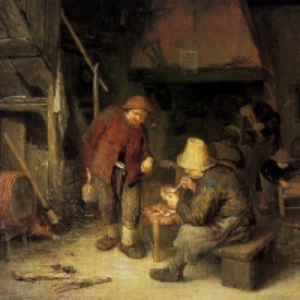 Адриан ван Остаде - Крестьяне на постоялом дворе