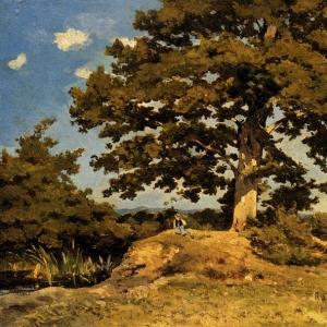 Арпиньи Анри Жозеф - Большое дерево