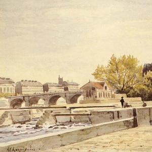 Арпиньи Анри Жозеф - Новый мост, Париж