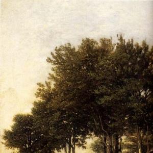 Арпиньи Анри Жозеф - Пейзаж с двумя мальчиками, везущими хворост