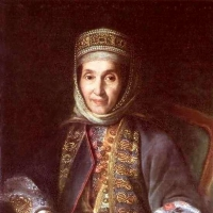 Портрет А. А. Лазаревой