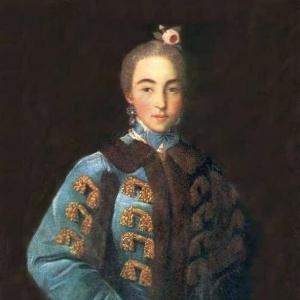 Портрет графини А. П. Шереметьевой