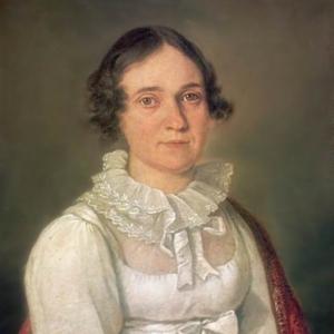 Портрет неизвестной в белом платье