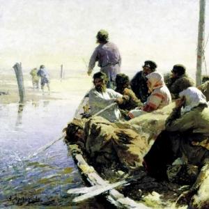 По реке Оке