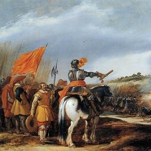 Адриан ван де Велде - Битва