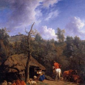 Адриан ван де Велде - Хижина