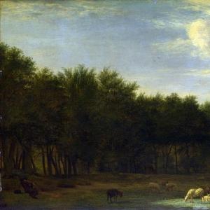 Адриан ван де Велде - Опушка леса