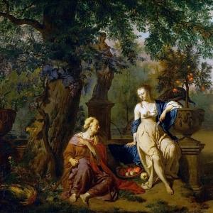 Адриан ван де Велде - Вертумн и Помона