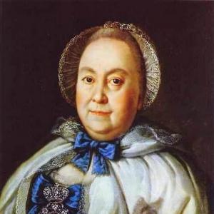 Портрет М.А.Румянцевой
