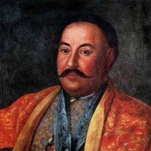Портрет казацкого атамана Ф.И.Краснощекова