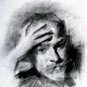 Автопортрет, 1904-1905