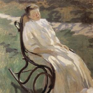 Дама в кресле-качалке, 1897