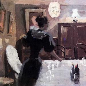 В ожидании гостей, 1894