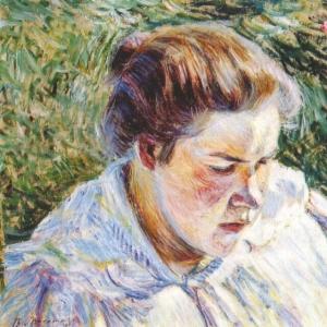 Девушка на солнце, 1897