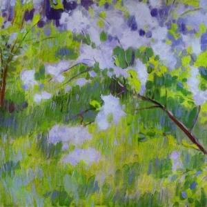Вишня в цвету, 1901
