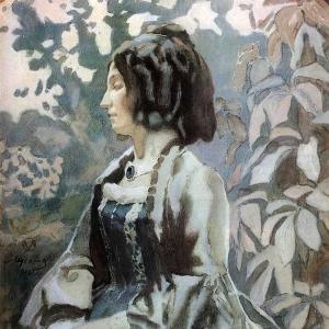 Дама в синем, 1902