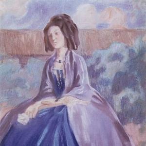 Дама в кринолине, 1903