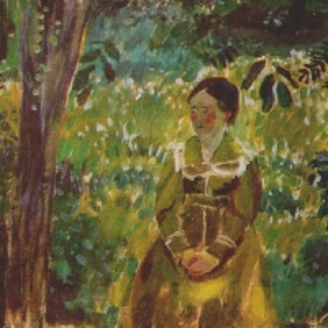 Дама в саду, 1903