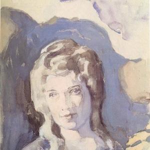 Дама в голубом, 1904
